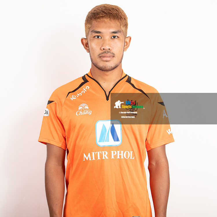 THAILAND - JUNE 24: Kritsananon Srisuwan #19 of Ratchaburi Mitr Phol FC on June 24, 2019.<br /> .<br /> .<br /> .<br /> (Photo by: Naratip Golf Srisupab/SEALs Sports Images/MB Media Solutions)
