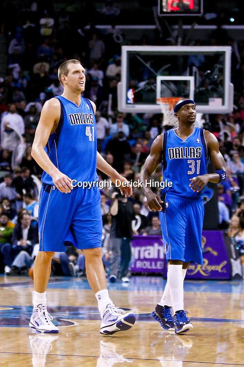 November 17, 2010; New Orleans, LA, USA; Dallas Mavericks power forward Dirk Nowitzki (41) of Germany during a game against the New Orleans Hornets at the New Orleans Arena. The Hornets defeated the Mavericks 99-97. Mandatory Credit: Derick E. Hingle