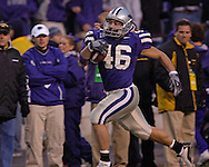 at Bill Snyder Family Stadium in Manhattan, Kansas, November 19, 2005.  K-State defeated the Missouri Tigers 36-28.