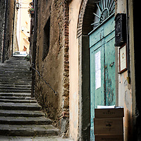 Beautiful medieval architecture in Cortona, Italy