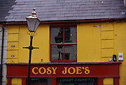 Cosy Joe's pub in Westport, West Ireland.