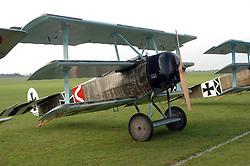 German Fokker Dri, (1917)The Great War, 1914-18 Aircraft, , The Duxford Air Show, 14th September 2014