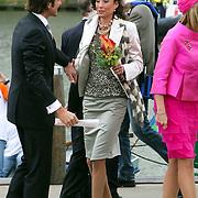 NLD/Makkum/20080430 - Koninginnedag 2008 Makkum, Maurits en partner Marilene