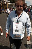 Roma  31 Maggio 2007.Manifestazione  dei Tassisti, contro il decreto sulle liberalizzazioni del Governo Prodi..Rome May 31, 2007.Demonstration of Taxi Drivers against the decree on the liberalization of the Prodi government...