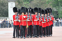 Guards Queen's Birthday Parade Trooping The Colour, London, UK, 12 June 2010. For piQtured Sales contact: Ian@piqtured.com Tel: +44(0)791 626 2580 (Picture by Richard Goldschmidt/Piqtured)