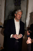 Lord Alastair Margadale, 1812 Napoleon's Fatal March on Moscow by Adam Zamoyski book launch. Avenue Studios. Fulham Rd. 5 April 2004. ONE TIME USE ONLY - DO NOT ARCHIVE  © Copyright Photograph by Dafydd Jones 66 Stockwell Park Rd. London SW9 0DA Tel 020 7733 0108 www.dafjones.com