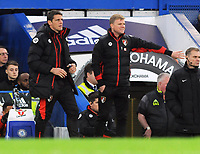 Football - 2016 / 2017 Premier League - Chelsea vs. AFC Bournemouth<br /> <br /> Bournemouth Manager Eddie Howe and assistant Manager , Jason Tindall at Stamford Bridge.<br /> <br /> COLORSPORT/ANDREW COWIE