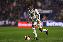 February 24, 2019 - Valencia, Valencia, Spain - Vinicius Junior of Real Madrid during the La Liga match between Levante and Real Madrid at Estadio Ciutat de Valencia on February 24, 2019 in Valencia, Spain. (Credit Image: © Maria Jose Segovia/NurPhoto via ZUMA Press)