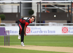 James Weighell of Durham Jets in action - Mandatory by-line: Jack Phillips/JMP - 23/07/2017 - CRICKET - Emirates Old Trafford - Manchester, United Kingdom - Lancashire Lightning v Durham Jets - Natwest T20 Blast