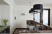 Photography of contemporary modernistic apartment interior in Warsaw Poland