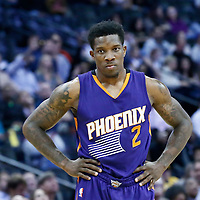 16 November 2016: Phoenix Suns guard Eric Bledsoe (2) rests during the Denver Nuggets 120-104 victory over the Phoenix Suns, at the Pepsi Center, Denver, Colorado, USA.
