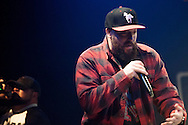 Illest*Lyricists' mic III (Michael Summers) performs at Spirit of Hip Hop on December 2, 2016 at the Knitting Factory in Boise, Idaho. This benefit show, presented by Earthlings Entertainment, utilized their hip hop roots to raise funds for Hays House and Idaho Food Bank.<br /> <br /> Performers included Freedom Renegades, Illest*Lyricists, Exit Prose, CoreVette Dance Crew, Dirtydice, Dedicated Servers, Earthlings Entertainment, DJ Manek and Auzomatik.