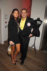The HON.ANTALYA NALL-CAIN and EDWARD AYDIN at a party to celebrate the launch of a new fashion label 'Oli' at the Haymarket Hotel, 1 Suffolk Place, London on 4th July 2007.<br /><br />NON EXCLUSIVE - WORLD RIGHTS