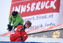 Harri Olli of Finland after he competed during Final round of the FIS Ski Jumping World Cup event of the 58th Four Hills ski jumping tournament, on January 3, 2010 in Bergisel, Innsbruck, Austria.(Photo by Vid Ponikvar / Sportida)