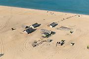 Seasonal Fishing 'wadiya' or transitional camp, West Coast.<br />near Kalpitiya