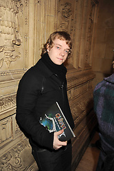 ALFIE ALLEN at the Cirque du Soleil's gala premier of Quidam held at the Royal Albert Hall, London on 6th January 2009