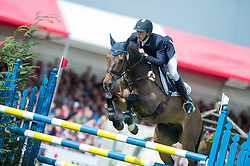 Svennerstal Ludwig (SWE) - Alexander<br /> Show Jumping - CCI4* <br /> Mitsubishi Motors Badminton Horse Trials 2014 <br /> © Hippo Foto - Jon Stroud
