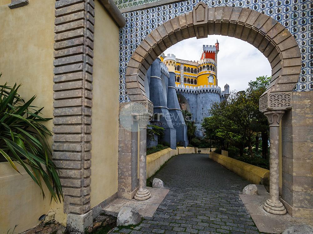 Entrada al Palacio da Pena, Sintra ©Javier Abad / PILAR REVILLA