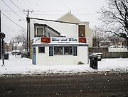 Blue and White restaurant, Alexandria, VA