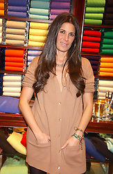 ELIZABETH SALTZMAN at a party at Ralph Lauren, Bond Street, London in support of the NSPCC's Full Stop campaign on 21st March 2006.<br /><br />NON EXCLUSIVE - WORLD RIGHTS