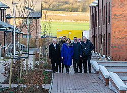 Pictured: David Dodds, West Lothian Council; Eileen Cook; Deputy Chief Executive West Lothian Council; Fiona Hyslop; Derek Mackay; John Hamilton; Winchburgh Development Ltd and Sir Tom Hunter<br /> <br /> Finance Secretary Derek Mackay headed to Winchburgh today to meet developers of new 3,450-home village. As well as the new homes, schools and other associated infrastructure will be built at Winchburgh. Derek Mackay met Sir Tom Hunter and Local MSP, Fiona Hyslop, the developers and West Lothian Council officials.<br /> <br /> Ger Harley | EEm 17 January 2019
