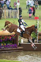 Llewellyn Emily (GBR) - Greenlawn Sky High<br /> Cross Country - CCI4* <br /> Mitsubishi Motors Badminton Horse Trials 2014 <br /> © Hippo Foto - Jon Stroud