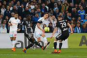 Florian Thauvin of Olympique de Marseille during the French Championship Ligue 1 football match between Olympique de Marseille and Olympique Lyonnais on march 18, 2018 at Orange Velodrome stadium in Marseille, France - Photo Philippe Laurenson / ProSportsImages / DPPI