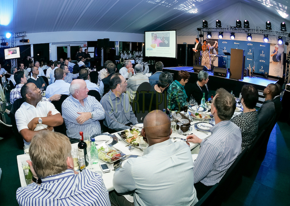 General view during the gala evening and prize giving of the Sanlam Cancer Challenge Finals 2012 held at The Gary Player Golf Course at Sun City on the 23rd October 2012...Photo by Dominic Barnardt/SPORTZPICS