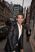 Jon Kortajarena, Tom Ford cocktail and preview of Tom Ford's Spring-Summer 2016 Menswear Collection. 201-202 Sloane St. London. 14 June 2015
