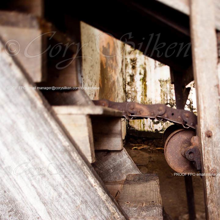 River Antoine Rum Distillery, established in 1785
