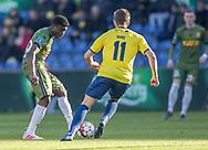 FODBOLD: Mohammed Kudus (FC Nordsjælland) under kampen i Superligaen mellem Brøndby IF og FC Nordsjælland den 13. maj 2019 på Brøndby Stadion. Foto: Claus Birch.