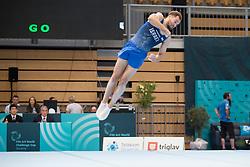 Alexander Shatilov of Israel at Floor Exercise during Finals of Artistic Gymnastics FIG World Challenge Koper 2018, on June 2, 2018 in Arena Bonifika, Koper, Slovenia. Photo by Urban Urbanc / Sportida