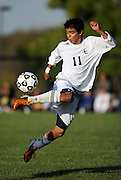 Men's Soccer action