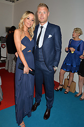 ANDREW FLINTOFF and RACHAEL FLINTOFF at the Glamour Women of The Year Awards held in Berkeley Square, London on 2nd June 2015.