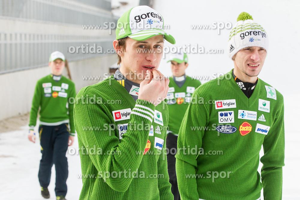 Peter Prevc and Robert Kranjec of Slovenian Ski jumping team, on December 23, 2014 in Planica, Slovenia. Photo by Vid Ponikvar / Sportida