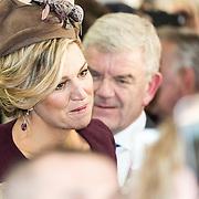 NLD/Huizen/20161130 - Staatsbezoek Belgie dag 3 - Koningin Mathilde en Koningin Maxima bezoeken Utrecht CS, Koningin Maxima