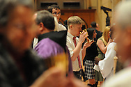 Catholic high school students and staff from the dioceses of Chicago, Rockford and Joliet receive communion during a mass at Holy Name Cathedral to promote service  in the church.
