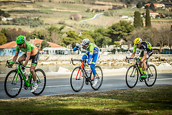 POLANC Jan (SLO) of Slovenian National Team, BALDAUF Sebastian (GER) of Team Voralberg during the UCI Class 1.2 professional race 4th Grand Prix Izola, on February 26, 2017 in Izola / Isola, Slovenia. Photo by Vid Ponikvar / Sportida