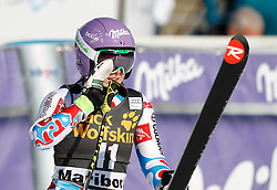 21.02.2015, Pohorje, Maribor, SLO, FIS Weltcup Ski Alpin, Maribor, Riesenslalom, Damen, 2. Lauf, im Bild Tessa Worley (FRA) // Tessa Worley of France after the 2nd run of ladie's Giant Slalom of the Maribor FIS Ski Alpine World Cup at the Pohorje in Maribor, Slovenia on 2015/02/21. EXPA Pictures © 2015, PhotoCredit: EXPA/ Erwin Scheriau