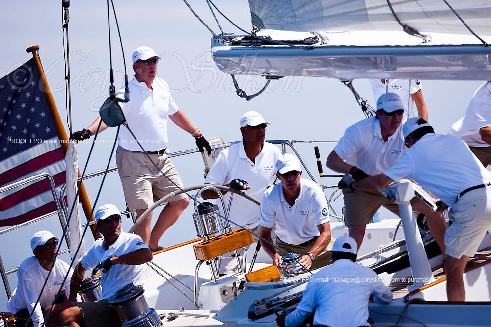 Fearless sailing in race 2 at the Newport Bucket Regatta.