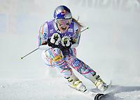ALPINE SKIING - WORLD CUP 2011/2012 - SOELDEN (AUT) - 22/10/2011 - PHOTO : GIOVANNI AULETTA / PENTAPHOTO / DPPI - WOMEN GIANT SLALOM - Lindsey Vonn (USA)  / WINNER