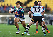 Warriors Bunty Afoa during the NRL rugby league match between the Warriors and Sharks at Westpac Stadium in Wellington on Friday the 19th of July 2019. Copyright Photo: Grant Down / www.Photosport.nz
