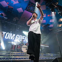 Glasgow, Scotland, UK. 9th October, 2018. Tom Brennan, in concert at The Barrowlands Ballroom, Glasgow Great, UK. Credit: Stuart Westwood/Alamy Live News