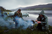Mayo County: Lough Beltra lake, a cup of tea for salmon fishermen.