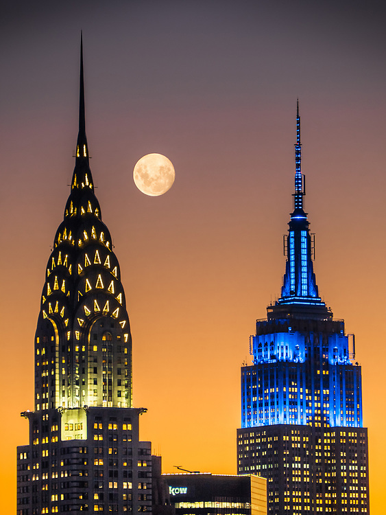 Chrysler  Building & Empire State Building