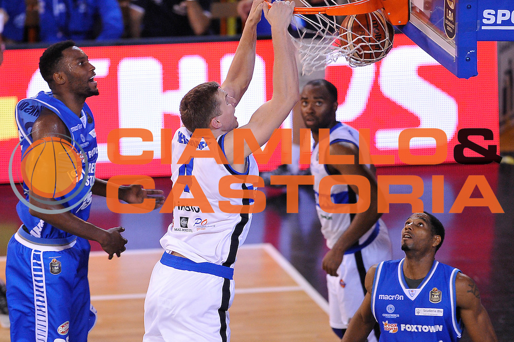 Jared Berggren<br /> Germani Basket Brescia - Red October Cantu'<br /> LegaBasket 2016/2017<br /> Brescia 09/10/2016<br /> Foto Ciamillo-Castoria