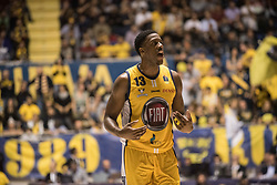 November 12, 2017 - Turin, Piemonte/Torino, Italy - Lamar Patterson (Fiat Torino Auxilium) during the Basketball match, Serie A: Fiat Torino Auxilium vs Vanoli Cremona. Torino wins 88-80 at Pala Ruffini in Turin 12th november 2017 Photo by Alberto Gandolfo/Pacific Press) (Credit Image: © Alberto Gandolfo/Pacific Press via ZUMA Wire)