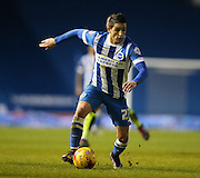 Brighton striker, Anthony Knockaert (27) during the Sky Bet Championship match between Brighton and Hove Albion and Huddersfield Town at the American Express Community Stadium, Brighton and Hove, England on 23 January 2016.