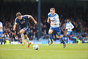 Bury midfielder Danny Mayor (10) starting an attack during the EFL Sky Bet League 1 match between Southend United and Bury at Roots Hall, Southend, England on 30 April 2017. Photo by Matthew Redman.