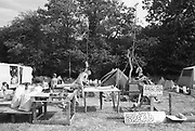 Oundle ground camp site,Glastonbury, Somerset, 1989
